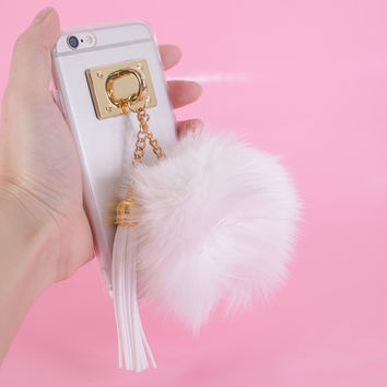 Tassel and Pom Pom iPhone Case
