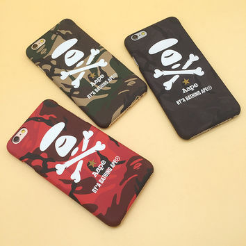 Cute Stylish Hot Deal On Sale Iphone 6/6s Iphone Korean Innovative Camouflage Apple Phone Case [8153014535]