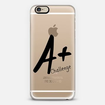 A+ Challenge Back to school iPhone 6 case by Yasmina Baggili | Casetify