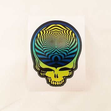"Optical Steal Your Face - 3"" Sticker"