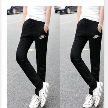 ONETOW NIKE' Sports Casual Summer Couple Pants