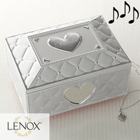 Lenox® Personalized Ballerina Musical Jewelry Box