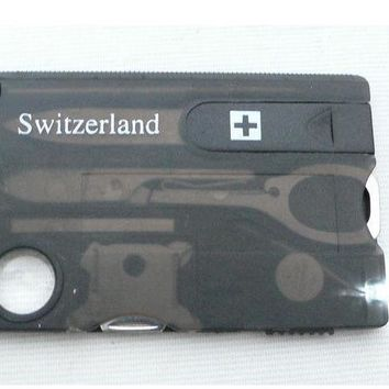 12-in-1 Credit Card Tool Knife Blade Business Card