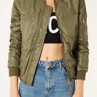 Airforce Bomber - New In This Week - New In - Topshop USA