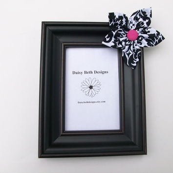 Photo Frame Shabby Cottage Chic 4x6 by daisybethdesigns on Etsy