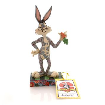 Jim Shore WHAT'S UP DOC Polyresin Bugs Bunny Looney Tunes 4049382