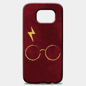 Harry Potter Face Illustration Samsung Galaxy S8 Plus Case | casescraft