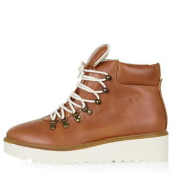 BERLIN Hiker Boots - Tan