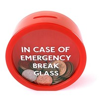 Break Glass Money Box Coin Bank