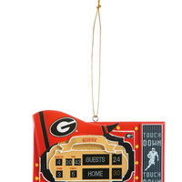 Georgia Bulldogs Scoreboard Ornament