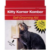 Sentry HC Groom'n Comb/with Catnip Pouch