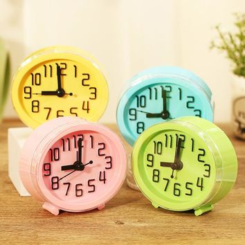 Desktop  Decor Children Alarm Clock Quartz Table Clock Modern Timer Snooze Alarm Clock  LED Light Mute Silent ClockKawaii Pokemon go  AT_89_9