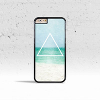 Hipster's Free Spirit Ocean Triangle Case Cover for Apple iPhone 4 4s 5 5s 5c 6 6s Plus & iPod Touch