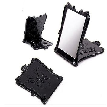 Butterfly Desktop Rotatable Stand Compact Mirror