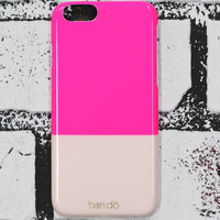 iPhone 6 Case - Neon Pink/Blush