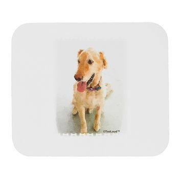 Golden Retriever Watercolor Mousepad