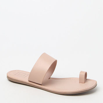 Me To We Toe Strap Slide Sandals at PacSun.com