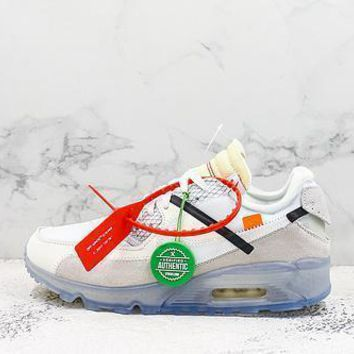 Off White X Nike Air Max 90 Sneakers