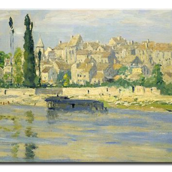 Monet Oil Painting Stock Photo 05 - 1 panel L