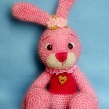 Shop Crochet Bunny Pattern On Wanelo