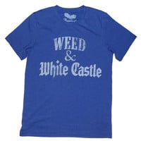 Weed T-shirt - 'Weed & White Castle - Unisex by American Anarchy Brand