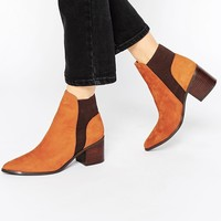 ALDO Etiweil Tan Leather Heeled Chelsea Boots