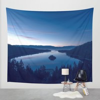 Emerald Bay Wall Tapestry by Gallery One