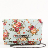 With Love From CA Floral Studded Clutch at PacSun.com