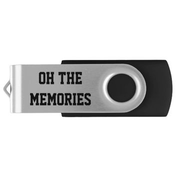 Oh The Memories Flash Drive