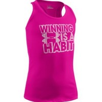 Under Armour Girls' Winning is a Habit Graphic Tank Top - Dick's Sporting Goods