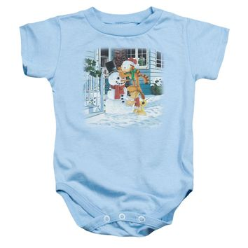 Garfield - Snow Fun Infant Snapsuit
