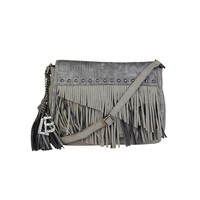 Laura Biagiotti Grey Crossbody Bag