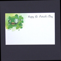 250 Happy St. Patrick's Day Blank Cards Enclosure Place Cards