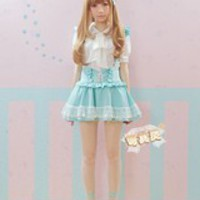Kawaii summer suspended skirt • Shy Lolita • Tictail