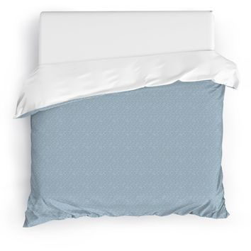 KAIYO BLUE Duvet Cover By Tiffany Wong