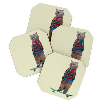 Brian Buckley Roll With It Coaster Set
