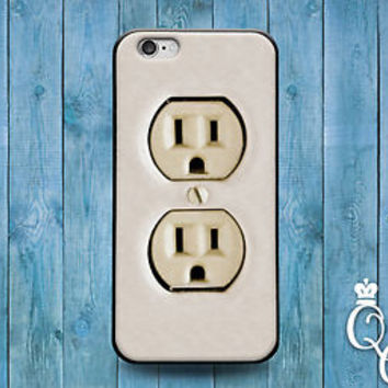 Funny Electrical Wall Socket Cover Fun Cute Case iPod iPhone 4 4s 5 5s 5c 6 Plus