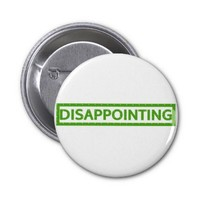 Disappointing Stamp Buttons