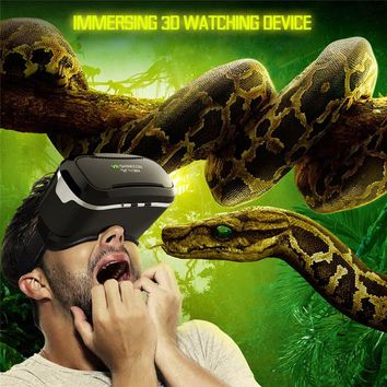 High Quality VR Shinecon Virtual Reality Headset 3D Movies Games Video Glasses For 4.7-6.1 inch smartphone iphone Samsung Millet