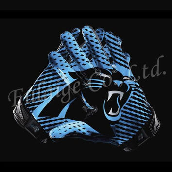 Carolina panthers Glove 3x5 ft flag 100D Polyester flag 90x150cm NFL custom american football gloves flag