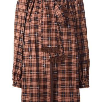 Yves Saint Laurent Vintage 1975's checked unlined jacket