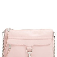 Women's Rebecca Minkoff 'MAC' Convertible Crossbody Bag - Pink