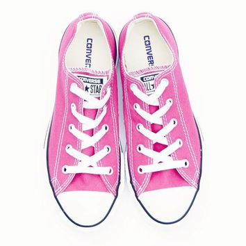 """Converse"" Fashion Canvas Flats Sneakers Sport Shoes pink"