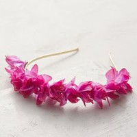 Dianthus Headband by Anthropologie in Purple Size: One Size Hair
