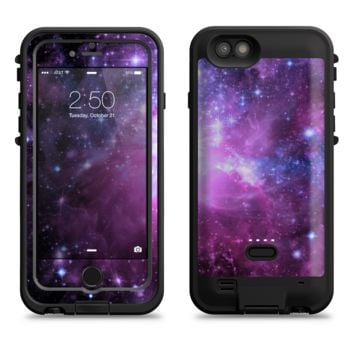 The Purple Space Neon Explosion  iPhone 6/6s Plus LifeProof Fre POWER Case Skin Kit