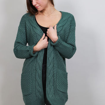Lovely Emerald Cardigan
