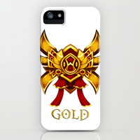 League of Legends Gold Tier iPhone & iPod Case by Dey & Day