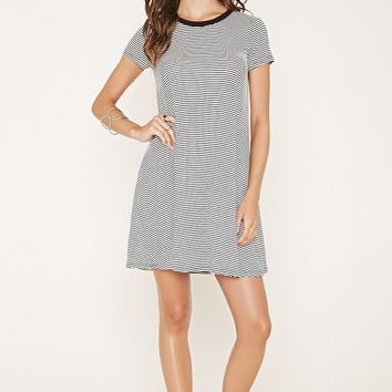 Striped T-Shirt Dress | Forever 21 - 2000176433