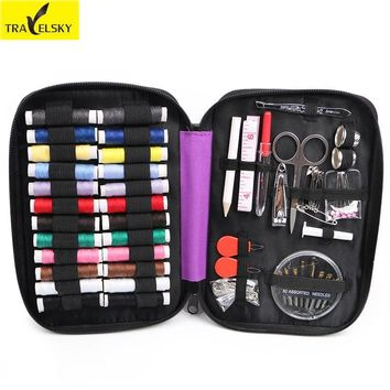 Travel Accessories Travel Multi-function Sewing Box Portable Household Sewing Kit Home Cross Stitch Sewing Kit Storage Bag 1pcs