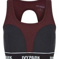 Ribbed Colourblock Bra by Ivy Park - Lingerie - Clothing